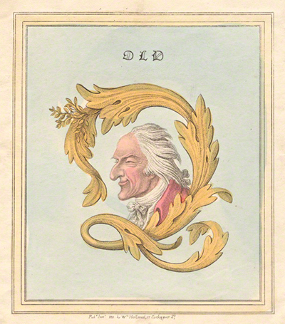 James Gillray. Old Q. National Portrait Gallery, London